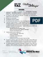 """Bases Del Primer Concurso de Recital """"Táctica y Estrategia"""" Premio Viva UNASAM 2015"""