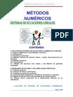 Apuntes Metodos Numericos Sistema de Ecuaciones Lineales