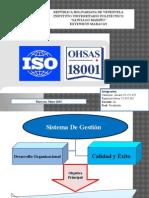 Oshas o Otras Sistema de Gestion 2015