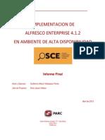 Cluster OSCE Informe Final