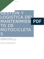 Gestion y Logistica Del Mantenimiento de Motocicletas