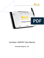 Usermanual Omnik Wifi Kit en 20130626 v2.4