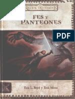 D&D - Reinos Olvidados - Fes y Panteones