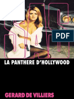 SAS 015 - La Panthere d Hollywood Gerard de Villiers