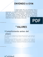 GRAÑA Y MONTERO Estructura Organizaiconal