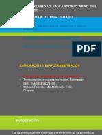 Capítulo7-EvaporacionYevapotranspiracion