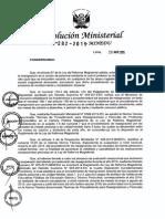 RM N° 282-2015-MINEDU.Cronograma para Reasignación.