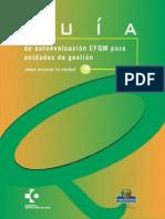Guía de Autoevaluación Rápida Según El Modelo de La EFQM