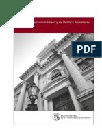 Informe Macroeconómico y de Política Monetaria