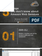 5 Things You Dont Know About AWS