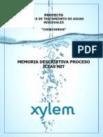 MEMORIA DESCRIPTIVA PLANTA DE TRATAMIENTO DE AGUAS RESIDUALES