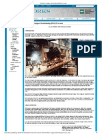 The Basic Oxygen Steelmaking (BOS) Process