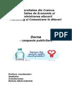Campanie publicitara dornna