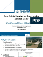Dam SafeDam Safety Monitoring Program for Earthen Dams