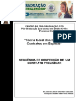 2. Sequencia de Confeccao de Contrato Preliminar