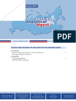 Russian Analytical Digest 162
