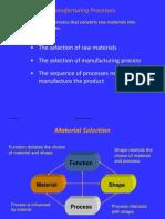 4 - ME20Manufacture Processes Classification