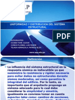 Uniformidad y Dstribucion Del Sistema Estructural Final