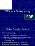 Session 3 and 4 Offshoring and Outsourcing