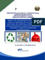 Manual de Procedimientos Técnicos para la Vigilancia de la Disposición Sanitaria de Excretas, Disposición de Aguas Residuales, Manejo de Desechos Sólidos Comunes y Manejo de Desechos Bioinfecciosos.pdf
