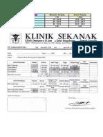 Klasifikasi BMI & Profil Lipid