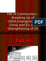 Fall of Communism Powerpoint