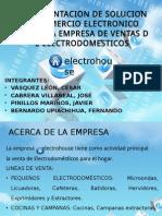 Implementacion de Solución de Comercio Electronico