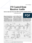 PTT Control From Receiver Audio