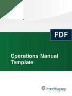 Operations Manual TOC