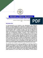 Plancha n.00811 - Filosofia y Valores Masonicos