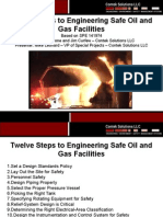 Engineering Safe Oil and Gas Facilities
