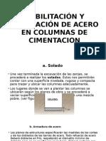 COLOCADO CIMENTACION