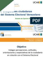 Encuesta de intención de voto en Venezuela
