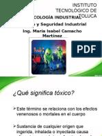 Clase de Toxicologia Industrial