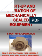 Mechanical Seal Equipments - Start Up & Operation