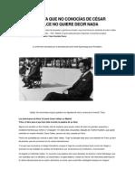 La Entrevista Que No Conocías de César Vallejo