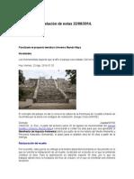 Relación de Notas 22-08-2014