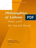Jean Phillipe Deranty e Nicholas Smith - New Philosophies of Labour
