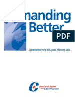 2004 Platform - Conservative Party of Canada