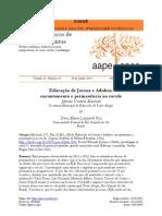 MACHADO, J.v.; FISS, D.M.L. Educação de Jovens e Adultos Encantamento e Permanência Na Escola