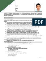 Md. Mohaiminul Islam (Resume)