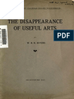 1912 PRivers-TheDisappearanceofUsefulArts