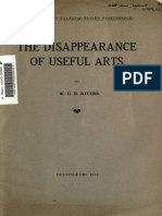 1912 PRivers-TheDisappearanceofUsefulArts