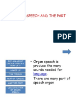ORGAN SPEECH PPT.pptx