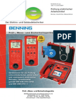 De-Fachbericht - Pruefung Elektrischer Arbeitsmittel