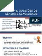 Música & Questões de Gênero e Sexualidade