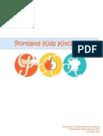 Portland Kids Kitchen Business Plan