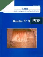 Los Petroglifos Del Sitio La Cruz, Mutún, Depto. de Santa Cruz, Bolivia