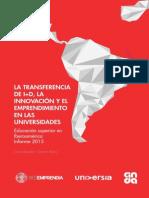 informeTransferenciaI+D2015