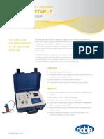 Delphi Portable DGA analyser